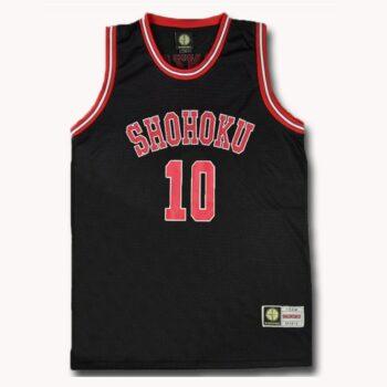 Slam Dunk – Shohoku School Basketball Team Black Jersey (15+ Designs) T-Shirts & Tank Tops