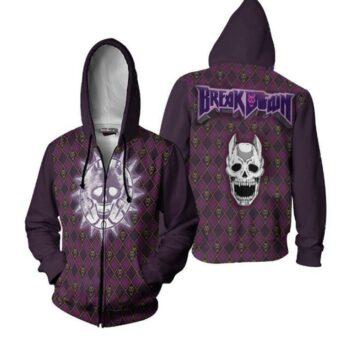 JoJo's Bizarre Adventure – Killer Queen themed Zip Hoodie Hoodies & Sweatshirts