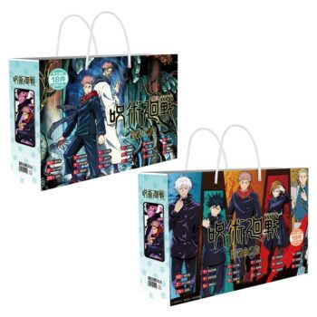 Jujutsu Kaisen – Different Characters Poster Gift Bags (2 Designs) Bags & Backpacks