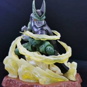Dragon Ball – Cell Powering Up PVC Action Figure (Box/ No Box) Action & Toy Figures