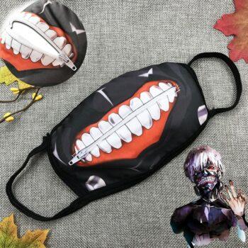 Tokyo Ghoul – Ken Kaneki Themed Full Face Mask (2 Colors) Face Masks