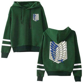 Attack on Titan – Survey Corps Themed Hoodies (5 Colors) Hoodies & Sweatshirts
