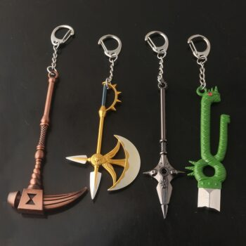 The Seven Deadly Sins – Different Characters Swords Themed Keychains (5 Designs) Keychains