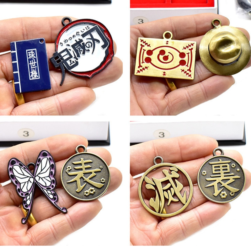 Demon Slayer – Different Characters Swords Themed Keychains (5 Designs) Keychains