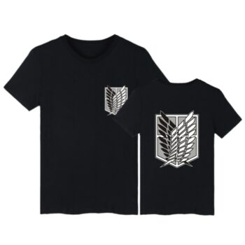 Attack on Titan – Simple and Plain Logos Themed T-Shirts (10+ Designs) T-Shirts & Tank Tops