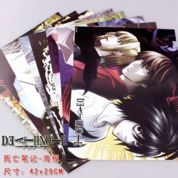 Death Note – Set of Different Amazing Characters (8 Pieces/Set) Posters