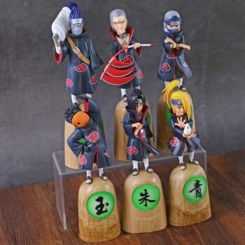 Naruto – All Akatsuki Members Action Figures (10+ Designs) Action & Toy Figures
