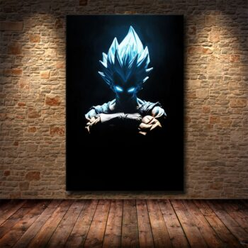 Dragon Ball – Amazing Characters Badass Canvas Posters (15+ Designs) Posters