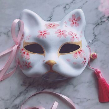Naruto – Anbu Themed Women Masks (2 Designs) Face Masks