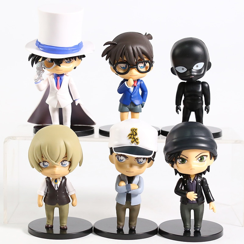 Detective Conan – Different Characters Set of PVC Action Figures (2 Sets) Action & Toy Figures