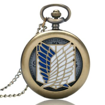 Attack on Titan – Survey Corps Pocket Watch (4 Colors) Watches