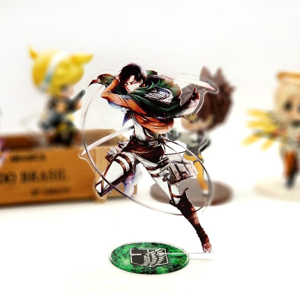 Attack on Titan – Levi Ackerman Acrylic Figure Stand Action & Toy Figures