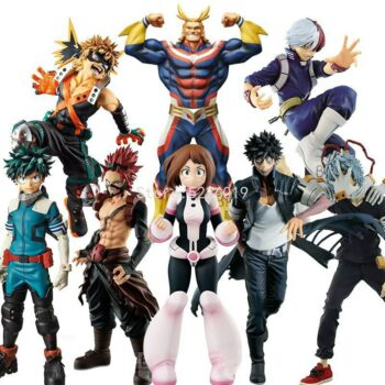 My Hero Academia – All Characters Action Figures Stands (40+ Designs) Action & Toy Figures