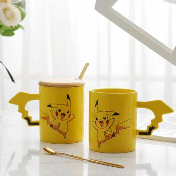 Pokemon – Pikachu Themed Mugs with cute Handles (3 Designs) Mugs