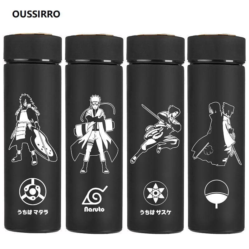 Naruto – All Characters Black and White Aesthetic Water Bottles (25+ Designs) Mugs