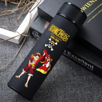 One Piece – Luffy Themed Water Bottle With Detachable Cup (10+ Designs) Mugs