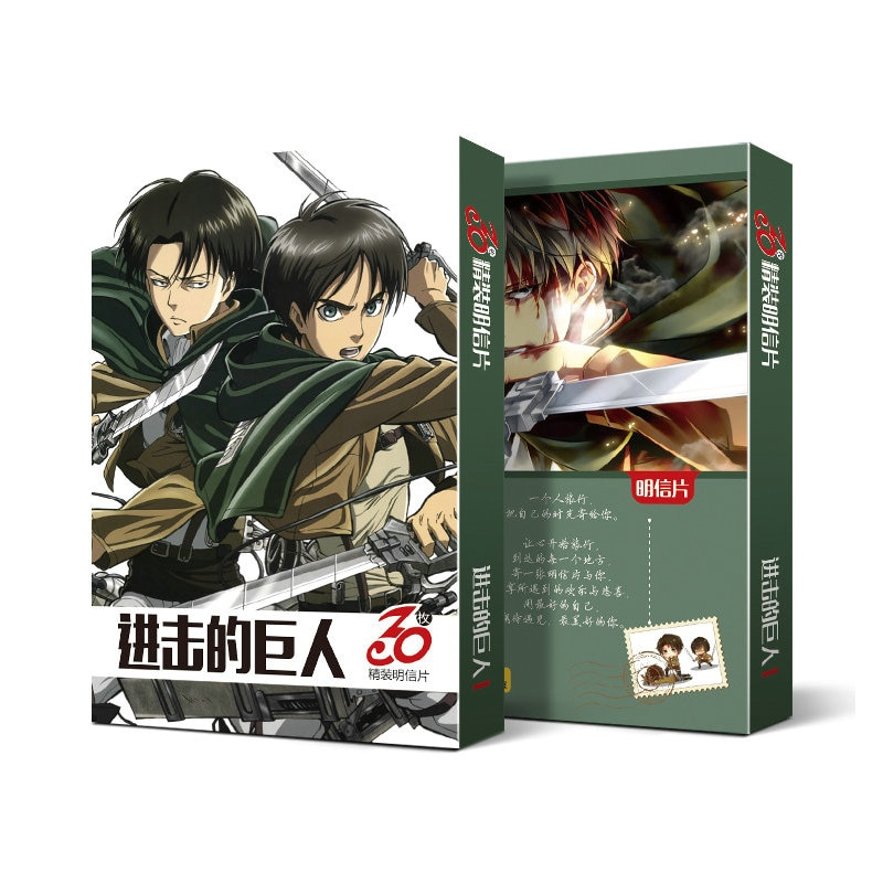Attack on Titan – Different Characters Fascinating Playing Cards (30 Pieces/Pack) Games