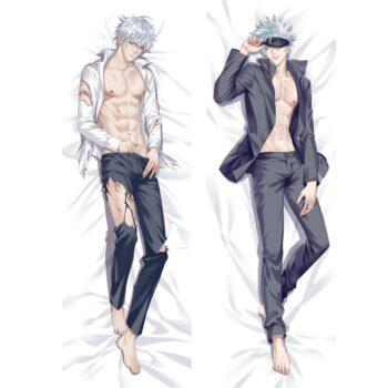 Jujutsu Kaisen – Gojo Satoru Dakimakura Hugging Body Pillow Covers (6 Designs) Bed & Pillow Covers