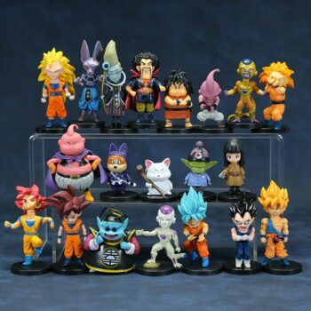 Dragon Ball – All Amazing Characters PVC Action Figures (Set of 21, 20, 16 Pieces) Action & Toy Figures