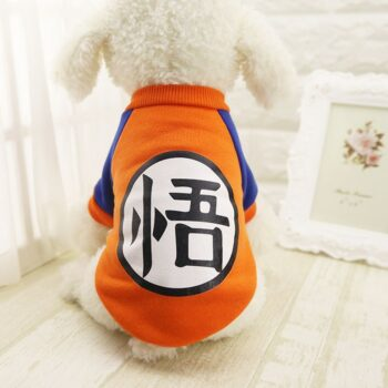 Dragon Ball – Goku Jersey Themed Cosplay Costume for Pets Cosplay & Accessories