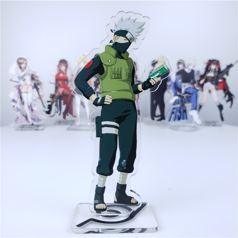 Naruto – Different Characters Themed Stylish Acrylic Figures (10+ Designs) Action & Toy Figures