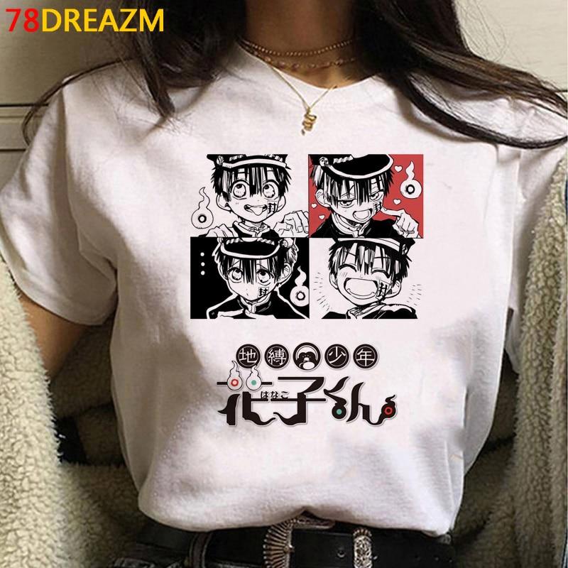 Toilet-bound Hanako-kun – All Cute Characters Themed Cool T-Shirts (25+ Designs) T-Shirts & Tank Tops