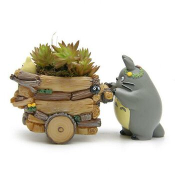 My Neighbor Totoro – Totoro Themed Beautiful Flower Pots (10+ Designs) Action & Toy Figures