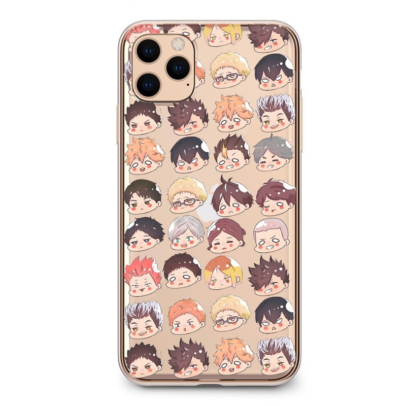 Haikyuu!! – Different Characters Silicone Cases for iPhone (iPhone 5s – iPhone 12 Pro Max) Phone Accessories