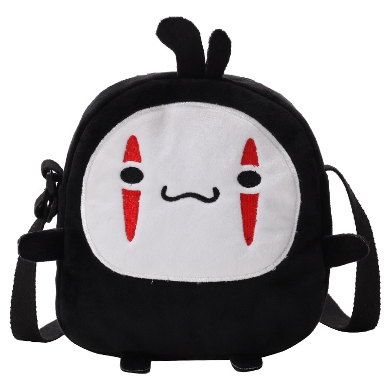 Spirited Away – No Face Themed Cute Little Bag (2 Designs) Bags & Backpacks