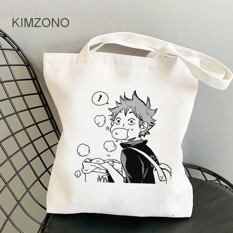 Haikyuu!! – Different Characters Themed Grocery Bags (25 Designs) Bags & Backpacks