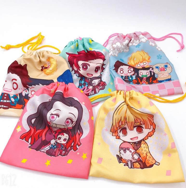Demon Slayer – All Amazing Characters Themed Compact Travel Bags (20 Designs) Bags & Backpacks