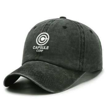 Dragon Ball – Capsule Corp Themed Caps (8 Colors) Caps & Hats
