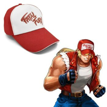 Fatal Fury – The Game Themed Red and White Hat (2 Designs) Caps & Hats