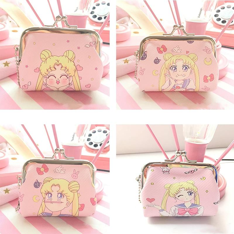 Sailor Moon – Sailor Moon Themed Cute Wallets for Women (4 Designs) Wallets