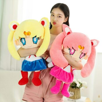 Sailor Moon – Chibiusa and Sailor Moon Plush Dolls (2 Designs) Dolls & Plushies