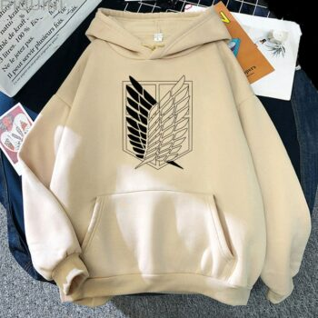 Attack on Titan – Survey Corps Themed Different Colored Hoodies (10+ Designs) Hoodies & Sweatshirts