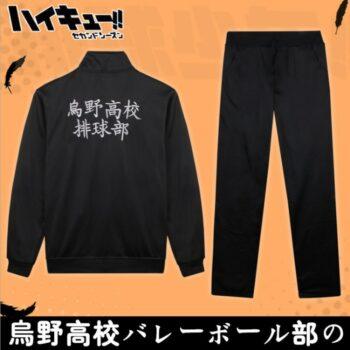 Haikyuu!! – Professional Sportswear with Coat and Pant Jackets & Coats