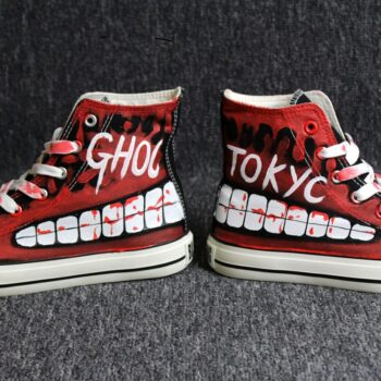 Tokyo Ghoul – Title Themed High-Quality Shoes (Different Sizes) Shoes & Slippers