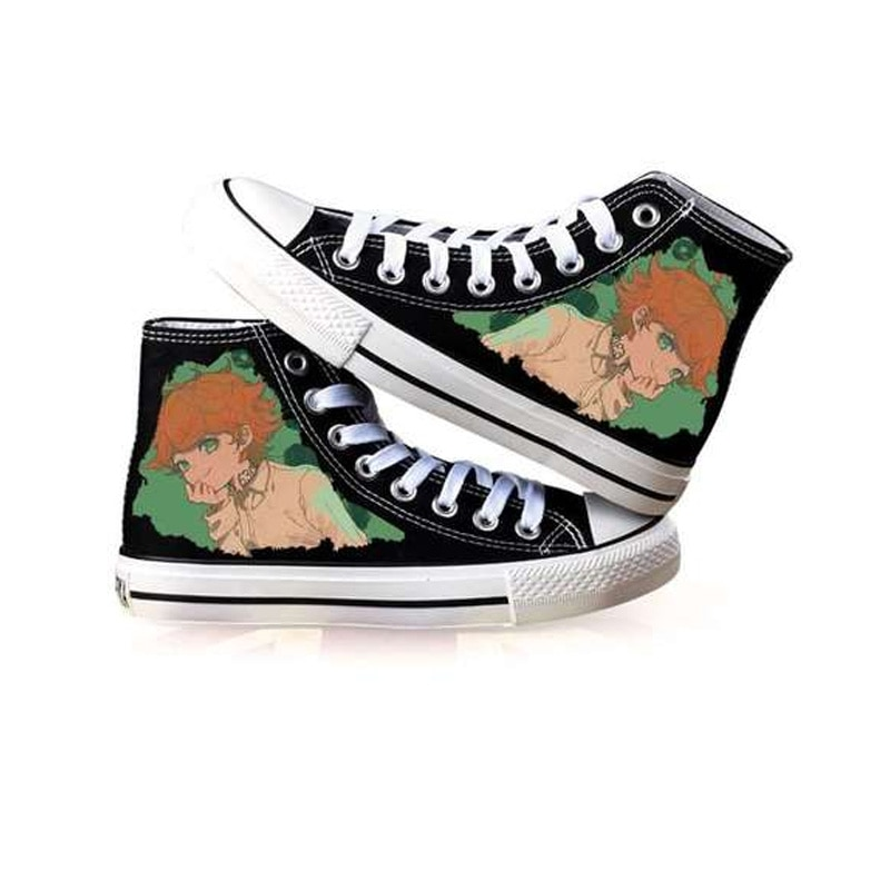 The Promised Neverland – Different Cool Characters Themed Shoes (10 Designs) Shoes & Slippers