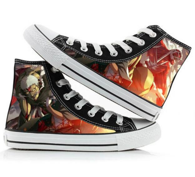 Attack on Titan – Various Characters Themed Amazing Stylish Shoes (15+ Designs) Shoes & Slippers