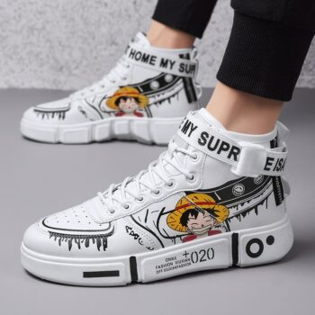 One Piece – Luffy & Zoro Themed Sporty Sneakers (+10 Designs) Shoes & Slippers