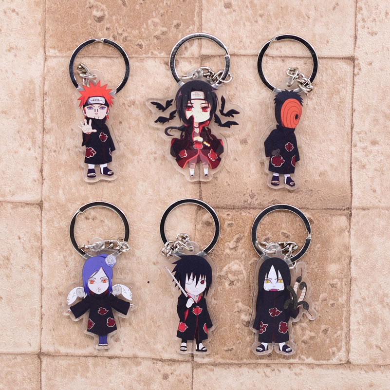 Naruto – Akatsuki Members and Other Characters Amazing Acrylic Keychains (20+ Designs) Keychains