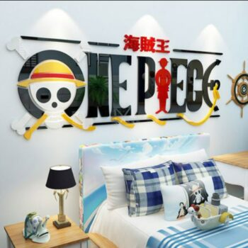 One Piece – One Piece Full Logo with Luffy Themed Poster (2 Designs) Posters