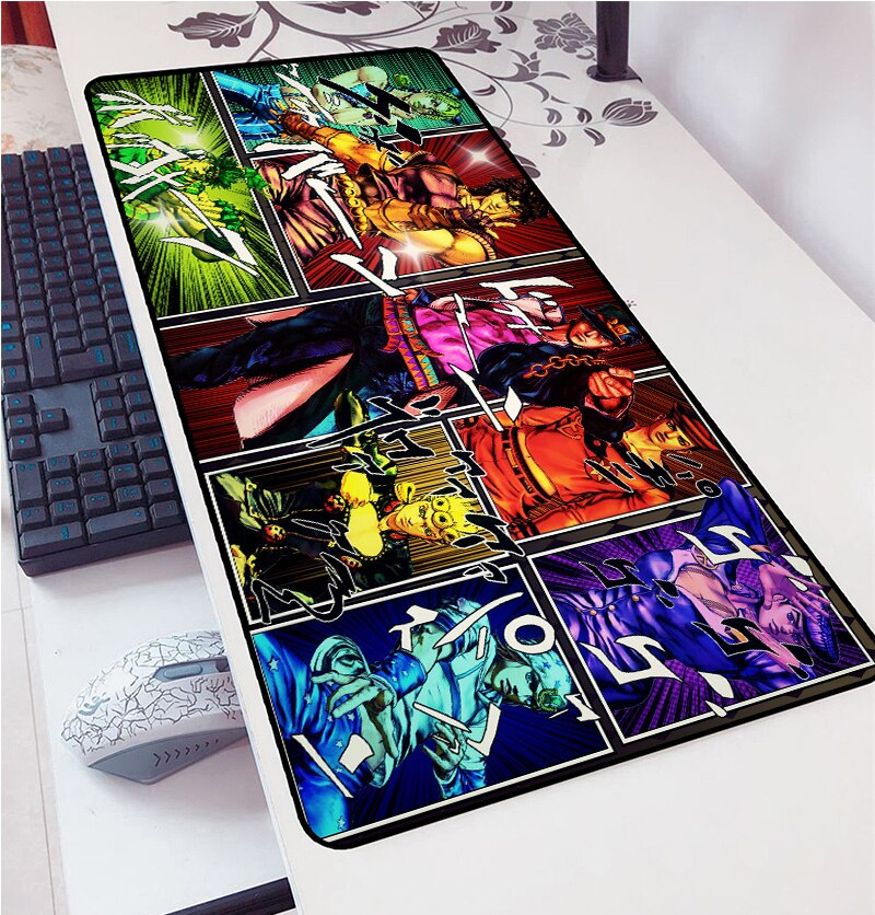 JoJo's Bizarre Adventure – Different Crazy Characters Themed Premium Mouse Pads (6 Designs) Keyboard & Mouse Pads