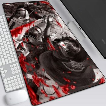 Attack On Titan – Different Characters Themed High-Quality Mouse Pads (15+ Designs) Keyboard & Mouse Pads