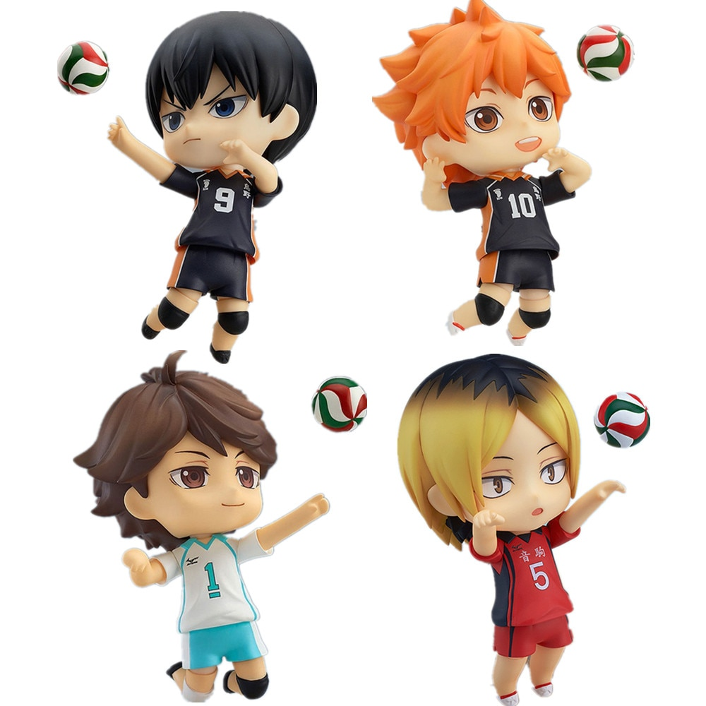 Haikyuu!! – Different Cool Characters Themed PVC Action Figures (8 Designs) Action & Toy Figures