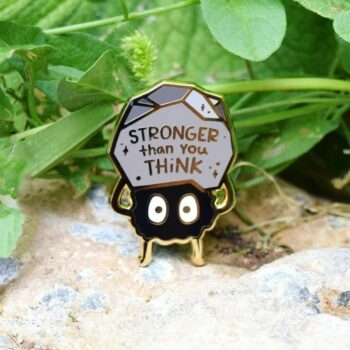 Ghibli – Soot Sprite Themed Cute little Badge Pendants & Necklaces