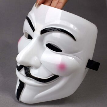 The Anonymous Smiling Scary Mask (2 Designs) Face Masks
