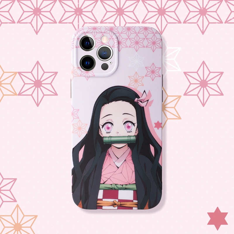 Demon Slayer – Cool Characters Themed iPhone Covers (7 – 12 Pro Max) Phone Accessories