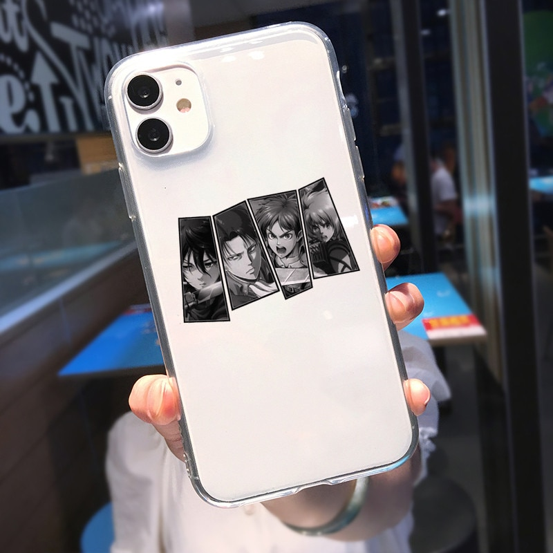 Attack on Titan – Different Amazing Characters Themed iPhone Covers (6s – 12 Pro Max) Phone Accessories